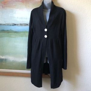 OAKLEY Long Light Cardigan Black Size Medium